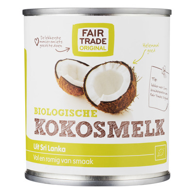 Fairtrade Original Kokosmelk biologisch