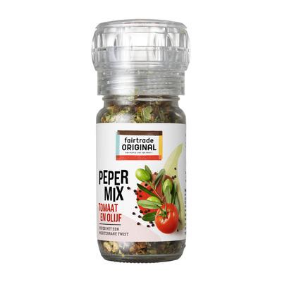 Fairtrade Original Kruidenmolen tomaat/ olijf