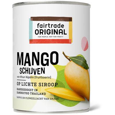 Fairtrade Original Mangoschijven op lichte siroop