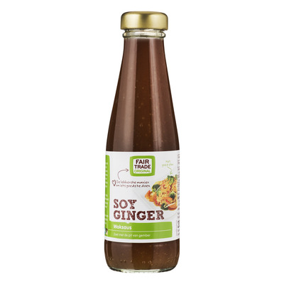 Fairtrade Original Woksaus soy ginger