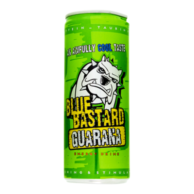 Blue Bastard Energydrink guarana