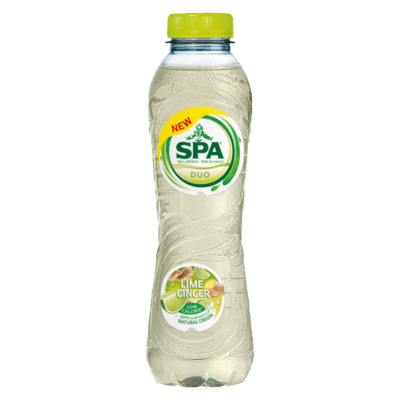 Spa Duo Lime Ginger Koolzuurvrij