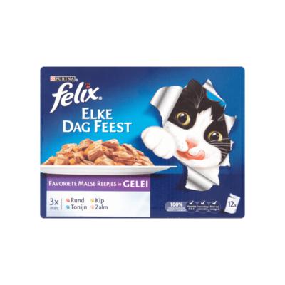 Felix Elke Dag Feest Favoriete Malse Reepjes in Gelei