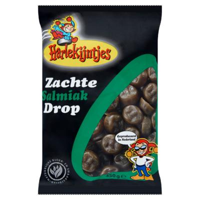 Harlekijntjes Zachte Salmiak Drop 450 g