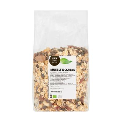 Raw Organic Food Muesli Gojibes