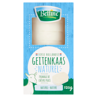 Bettine Verse geitenkaas naturel schijfjes