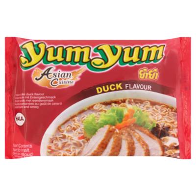 Yum Yum Noodlesoep Peking eend