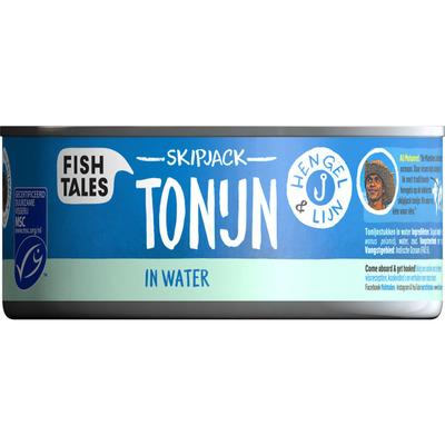 Fish Tales Skipjack tonijn in water