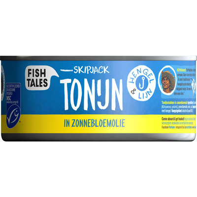 Fish Tales Ali's tonijn in zonnebloemolie