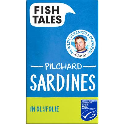 Fish Tales Skipjack tonijn in olijfolie