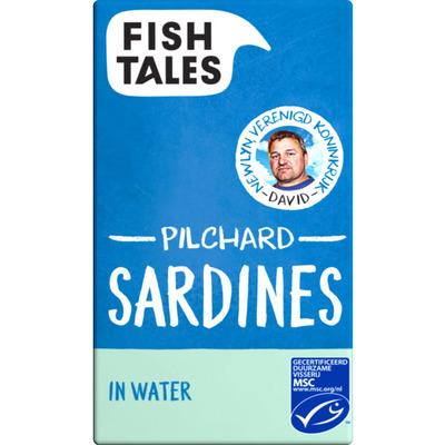 Fish Tales Sardines in water MSC