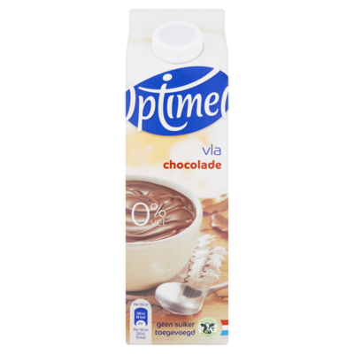 Optimel Vla Chocolade 1 L