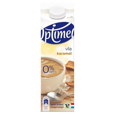 Optimel Vla 0% vet karamel