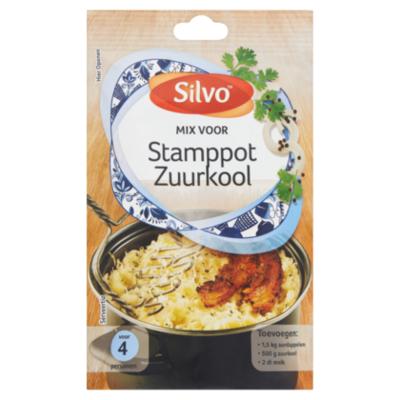 Silvo Mix stamppot zuurkool