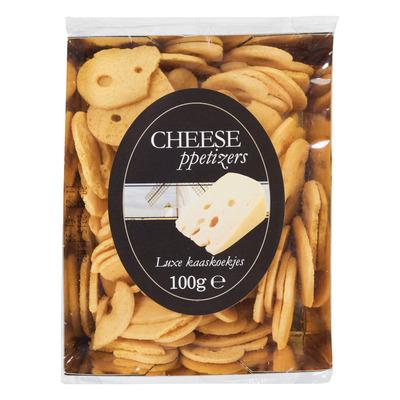 Cheeseppetizers Goudse kaaskoekjes