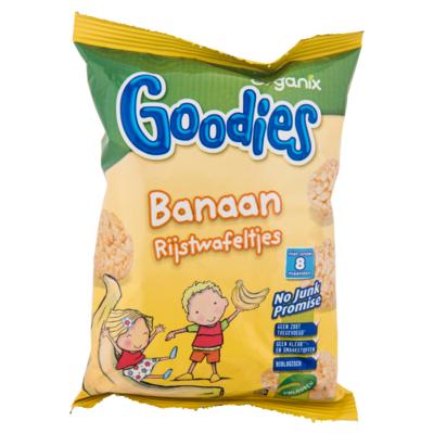 Organix Rijstwafeltjes banaan