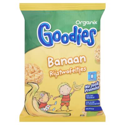 Organix Goodies Rijstwafels banaan