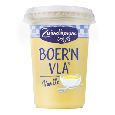 Zuivelhoeve Boer'n vanille vla