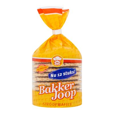 Bakker Joop Stroopwafels 12 Stuks