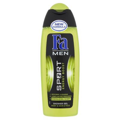 Fa Men Shower Gel & Shampoo Sport Energy Boost 250 ml