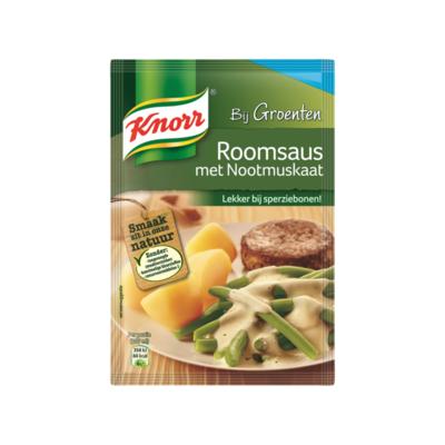 Knorr Mix Roomsaus met Nootmuskaat