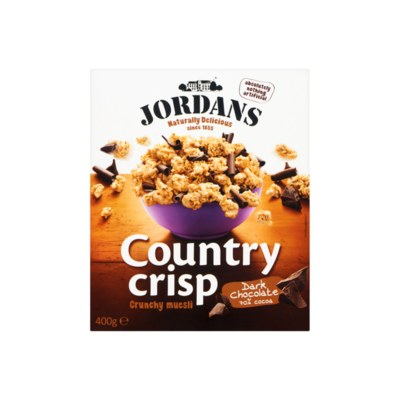 Jordans Country Crisp Crunchy Muesli Dark Chocolate 70% Cocoa