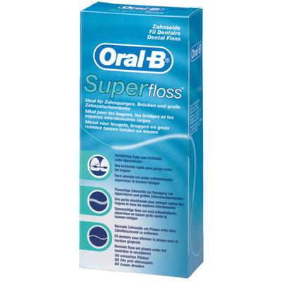Oral-B Super Floss 50 losse draden