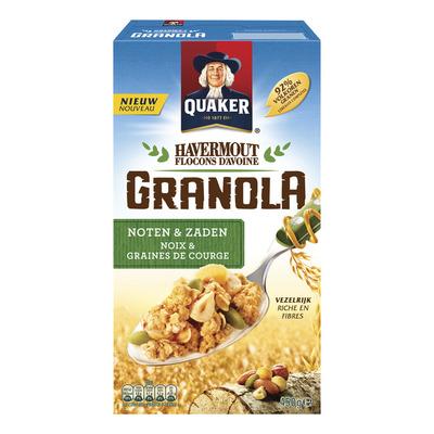 Quaker Granola noten-zaden