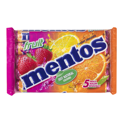 Mentos Fruit 5-pack