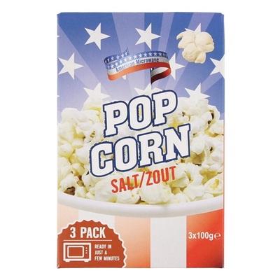 American Popcorn Zout 3-Pak