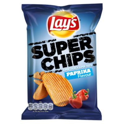 Lays Superchips Paprika chips
