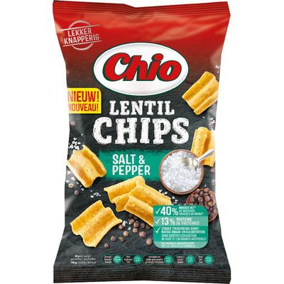 Chio Lentil chips salt & pepper