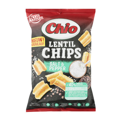 Chio Lentil chips salt & pepper