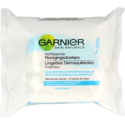 Garnier Skin Active Verfrissende Reinigingsdoekjes