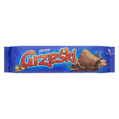 Grześki Wafel met Cacaocrème Omhuld met Chocolade