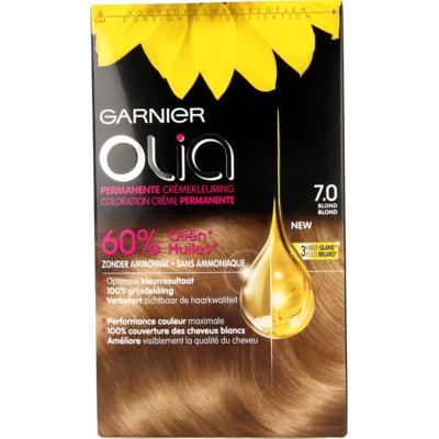 Garnier Olia Permanente Kleuring 7.0 Blond