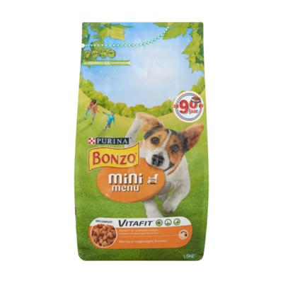 Bonzo Vitafit Mini Menu met Kip en Toegevoegde Groenten