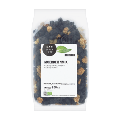 Raw Organic Food Moerbeienmix