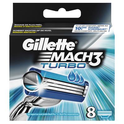 Gillette Mach3 scheermesjes turbo