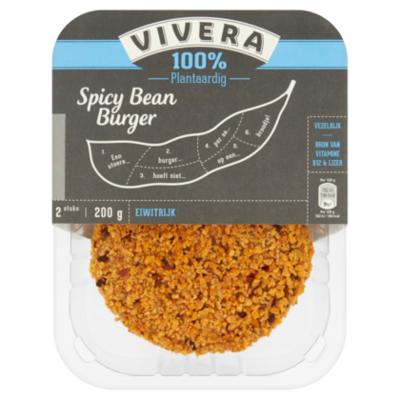 Vivera Spicey bean burger