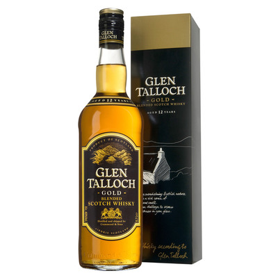 Glen Talloch Gold blended Scotch whisky 12 years
