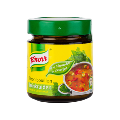 Knorr Bouillon met Tuinkruiden
