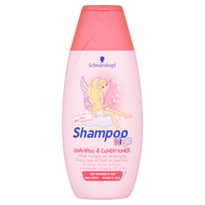 Schwarzkopf Kids Meisjes Zeemeermin Shampoo & Conditioner 250 ml