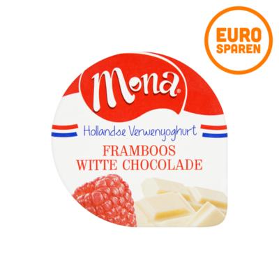 Mona Yoghurt Framboos Witte Chocolade