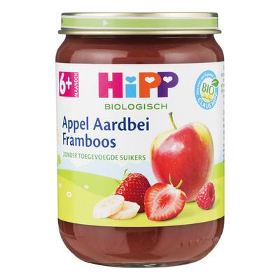 Hipp Appel-aardbei biologisch 6 maanden