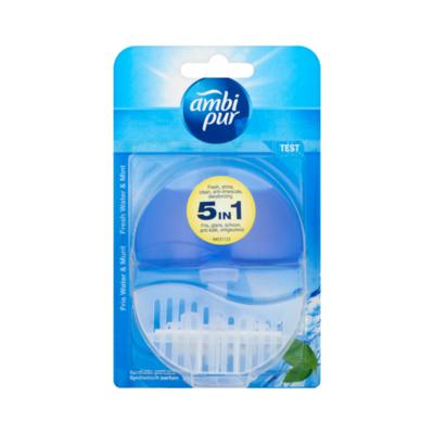 Ambi Pur Toiletblok Fresh Water & Mint Startpakketkit