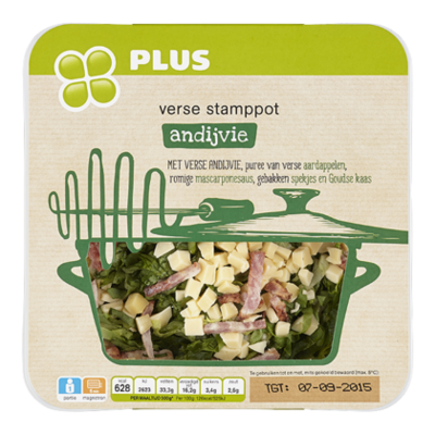 PLUS Verse stamppot andijvie