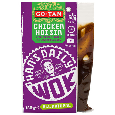 Go-Tan Han's daily wok chicken hoisin