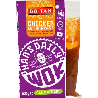 Go-Tan Han's daily wok chicken lemongrass