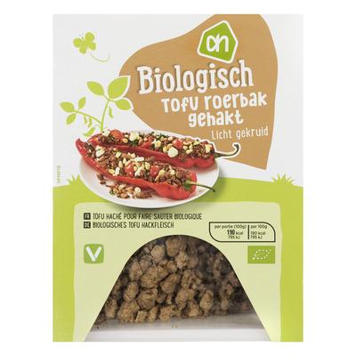 Huismerk Biologisch Tofu roerbakgehakt fijn gekruid